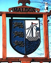 The Maldon coat of arms