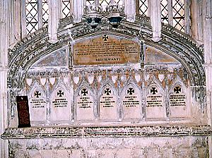 Tombs in Ely Cathedral